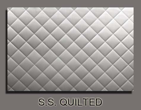 Quilted Stainless Steel Panels | Jiffy Trucks : quilted pictures - Adamdwight.com